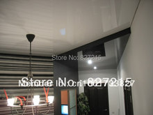 # 2011 Sample C Small size 1.5m/1.8m/3.2m width Glossy Ceiling Film Glossy ceiling tiles PVC  stretch ceiling film