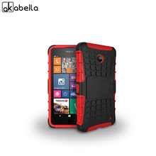 AKABEILA Phone Case For Nokia Lumia 630 Case DS Dual SIM RM-978 N630 3G RM-976 RM-977 RM-974 RM-975 638 636 Cover Armor Tyre Bag