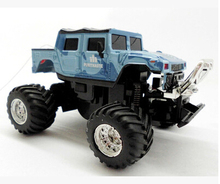 2016 New Limited Controle Remoto Electric Car The Great Wall Mini Remote Control Charge Off-road Toy Humvees Barrowload Dj002(China)