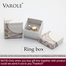 VAROLE Ring Jewelry Box Just Only Gift Box No Product(China)