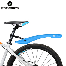 ROCKBROS MTB Bicycle Fender Bike Wings Mud Guard Cycling LED Light Mudguard Set Mountain Bicycle Durable Fenders Bike Fender(China)