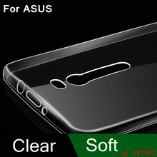 Clear Soft Cover Case For ASUS Zenfone 2 Laser ZE500KL 3 Max ZC520TL ZE520KL ZC553KL GO ZB500KL 5 ZC551KL AR ZB552KL Phone Bags