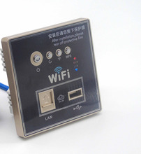 Embedded 86 type  poe wifi router with Switch power supply