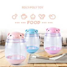 3 Colors Automatic Toothpick Holder Pocket Portable Small Pig Roly Poly Toothpicks box Creative Seasoning Cans Toothpick Box(China)