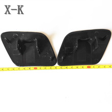 For AUDI A4 B6 2002-2005 Car styling front bumper headlight washer cover left+right 8E0 955 276 8E0 955 275
