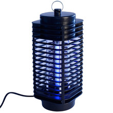 Modern Mosquito Killer Lamp Pest Reject Electric Moth Insect Killer LED Bug Zapper Fly Mosquito Repellent Lamp Trap Wasp(China)