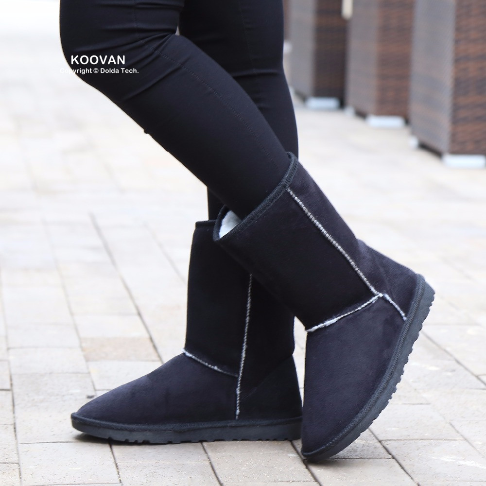 Koovan New Year Sale Women Boots 2017 Women Snow Boots Winter Shoes Sequins Ladies Boots Causal Shoes Womans Short Girls<br><br>Aliexpress