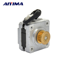 High Quality DC 12V 2 Phase 4 Wire 35 Stepper Motor 0.9 degree 20mm 3D printer Stepping Motor(China)