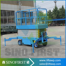 Factory direct supply manual mobile scissor lift mechanism