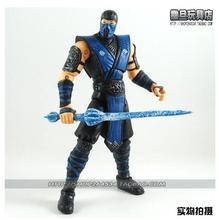 Unique !  Mortal Kombat 9  SUBZERO    6 inch  high action figure  toys  for  Gift with sword