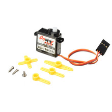 Power HD-1440A 0.8KG 4.4g Micro Servo Steering Engine Compatible with Futaba/JR RC Car Part(China)