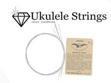 New 1 set Strings for Ukulele Little Guitar Strings Nylon White Hawaii Guitar 4 Strings Ukulele strings 21/23/26 inch universal(China)