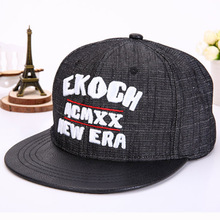 Fashion Cap Letter Baseball Hat Men Hip Hop Hats Women snapback caps hockey casquette homme basketball Black