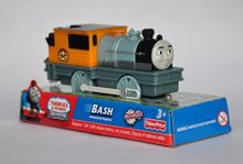BASH train, Electric Thomas And Friend Trackmaster Engine Motorized Train - Henry & Truck , Plastic Toy Train