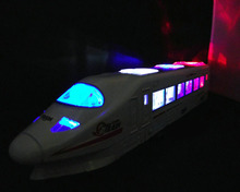 "13"" Musical Flashing Electric Railroad track Metro Super CRH Train High Speed Railway Xmas Gift Kid Toy"