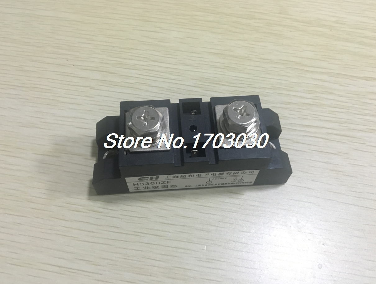 DC to AC 3-32VDC 380VAC 300A SSR Solid State Relay w LED Light<br>