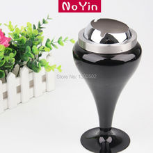 China Supplier Standing Smokeless Smoking Holder Home cigarette  Ashtray With Lids Windproof