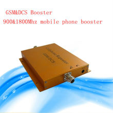 Free shipping Wholesale  telecom mobile cellphone signal booster 900&1800mhz