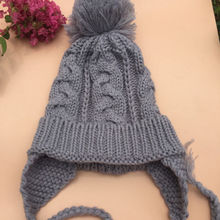 Lovely Autumn Winter Toddlers Warm Cap Hat Beanie Cool Baby Boy Girl Kids Infant Winter Earmuff Cap Children Kids Hat(China)