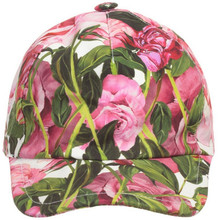 Summer Girls Hats Pink Rose Pattern Baby Girls Sun Hats Fashion Flower Style Children Bucket Hat Travel Essential