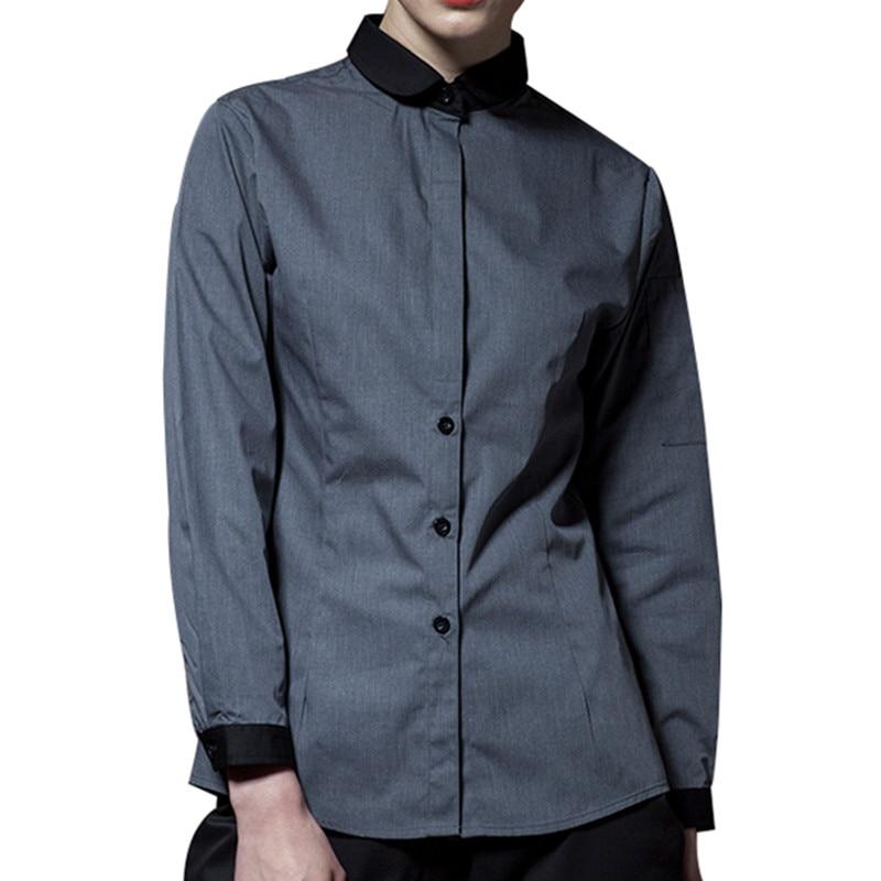 Long Sleeve Hospitality Work Wear D84-1
