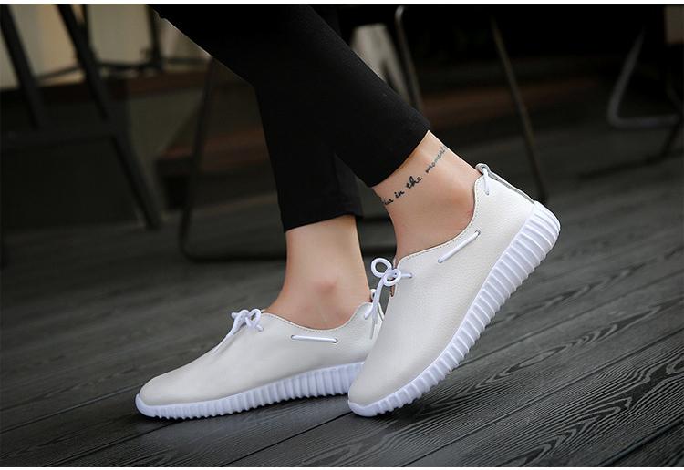 AH 2816 (9) Women's Leather Flats Shoes