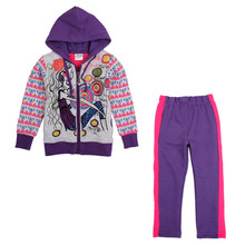 nova kids 2016 sports causal style gilr autumn/winter clothes sets prited fashion girl and patten girl coat sets high sale suits(China)
