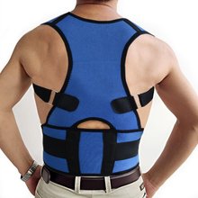 Black and blue Power Magnetic back posture support Power Magnetic Posture Support shoulder posture brace