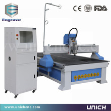 High precision wood carving engraving / wood design machine