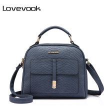 LOVEVOOK brand fashion women shoulder bag female crossbody bag high quality ladies handbag flap with thread(China)