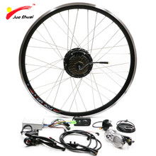 JS 20inch Rear Motor Wheel Electric Bike Conversion Kit LCD LED E Bicycle Computer Display 12 Magnets PAS Controller E Bike