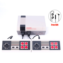 New Retro Childhood Mini TV Handheld Video Game Console Upgrated For Nes Games Built-in 500 Different Game PAL+NTSC dual gamepad(China)