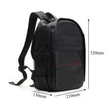NEW Waterproof Digital DSLR Photo Padded Backpack w/ Rain Cover Laoto  Multi-functional Camera Soft Bag Video Case