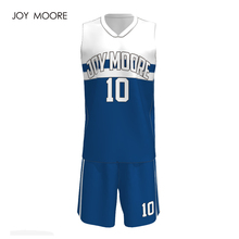 New design custom team basketball uniform sublimation custom basketball shirt for Men(China)