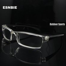 ESNBIE Mens monturas de lentes hombre Prescription Glasses TR90 Flexible Eyeglasses Frames Men 6 Base oculos de grau(China)