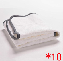 10PCS/LOT  Microfiber Dry Dweeping Mopping Cloths For iRobot Braava 380 380t 320 Mint 4200 5200 Robotic Resuable Cleaner