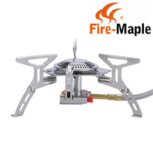 2017 New Fire Maple Gas Stove FMS-105 Outdoors Camping Split Stove Stainless Steel Cooking Stove 2600W 246g Free Shipping