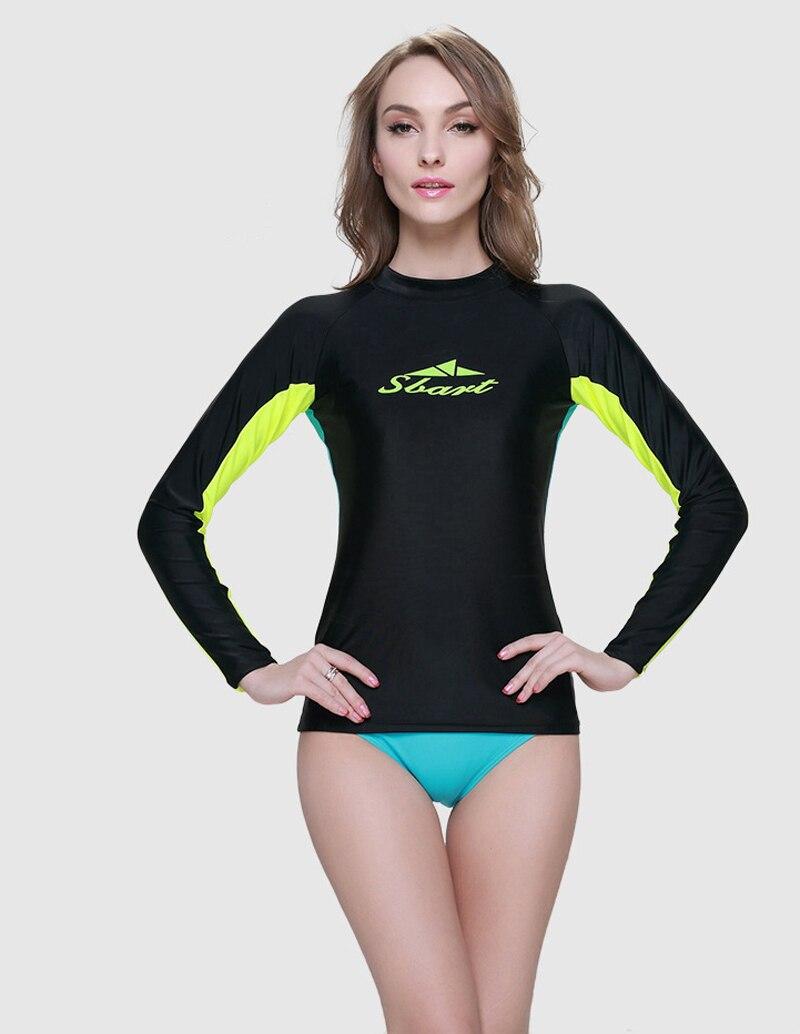 Femmes Nautique Acheter Longues Eté Sbart Manches Surf À Sport Tops 4LSc3jR5Aq