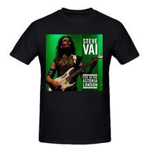 2017 New Arrival Funny Design T Shirts Casual CoolSteve Vai Live At Astoria London Mens Grey Tee Shirts Crew Neck
