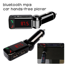 Car Kit Bluetooth FM Transmitter Wireless MP3 Player Modulator Handsfree LCD with Dual USB Charger for iPhone Samsung Smartphone