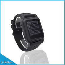 New Arrival MP4 Watch 4GB Memory eBook watch Support e-book reader Music player Different language(China)