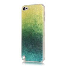Bling soft gel Silicone Case For ipod touch 5/6 Iphone 5C glitter tpu cover Coque Capa Fundas carcasas etui kryty kasus kilifi