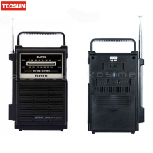 High Quality TECSUN R-206 R206 Radio Receiver Digital Demodulation Stereo Radio Portable Pocket Radio Digital Receiver(China)
