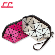 Baobao Brand multi-function travel cosmetic bag Flash Diamond Leather Makeup Make Up Wash Tool Organizer Storage bags 2017 bag
