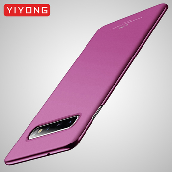 S10 Plus Case YIYONG Matte Coque For Samsung Galaxy S10 Plus S9 Case S10 Lite Hard PC Cover For Samsung S10 E S9 Plus Phone Case 2