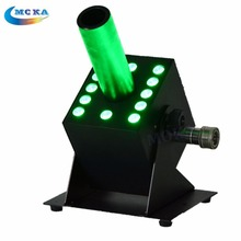 DMX 512 Colorful Led RGB 12x3w CO2 Jet Machine Spray FOG FX Special Effects CO2 Column Jet
