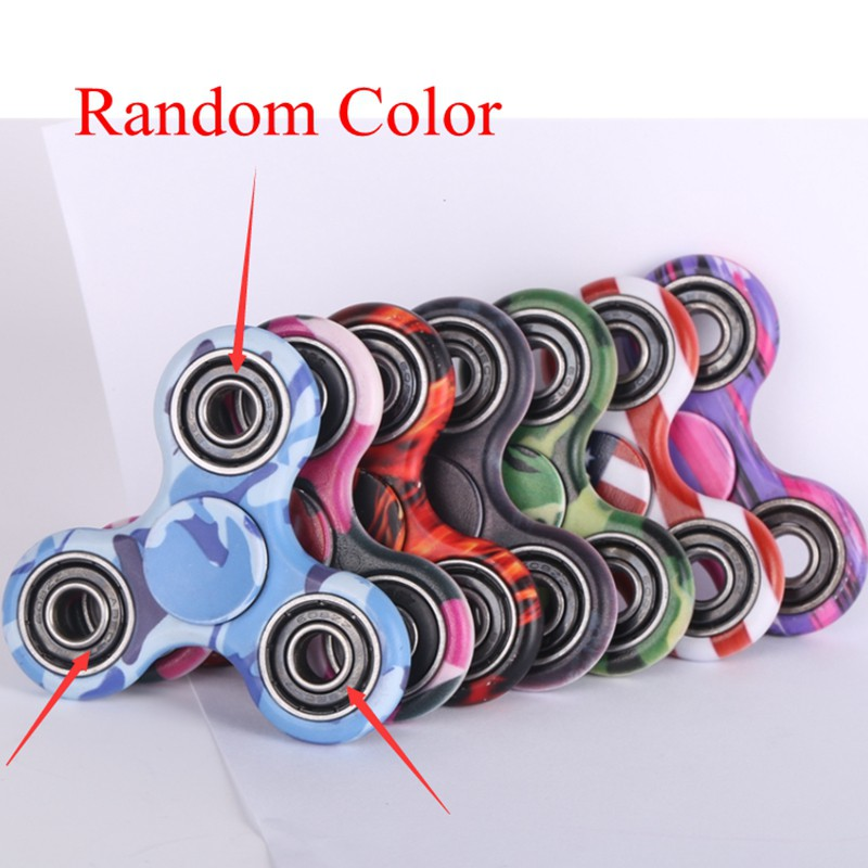 Finger Spinner Fidget ABS Plastic CUBE EDC Hand Spinner For Autism and ADHD Relief Focus Anxiety Stress Gift Toys