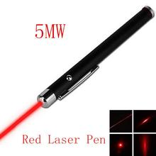 Portable 5mW 650nm laser point Powerful pen laser Red Laser Pointer Pen Visible Beam Light laser High Power