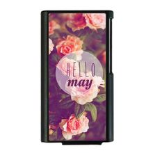 fresh style flower design Hard PC Case For Apple iPod Nano 7 nano7 shivering back cover cases  + Freeshipping