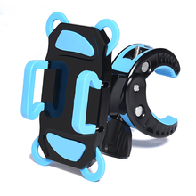Bicycle Motorcycle Bike Baseplate Phones Accessories Holder Support PDA GPS Mobile Phone Holders Stands 360 Degree Adjustable